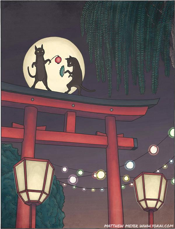 Ma mèo báo thù, truyền thuyết ly kỳ và quái dị của người Nhật Bản - Ảnh 1.