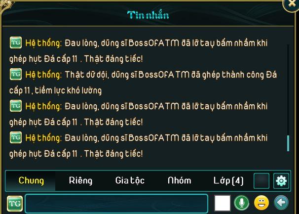 """Quyết giữ ngôi vị Bá Vương, vị đại gia """"chơi lớn"""", đập thành công cây vũ khí +16 đầu tiên toàn server, ước tính hàng trăm triệu? - Ảnh 12."""