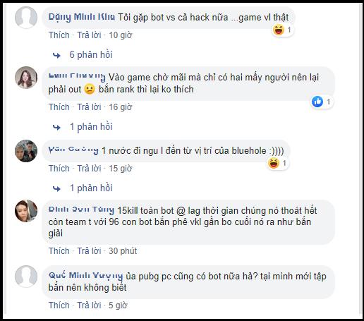 Cộng đồng game thủ Việt chán nản vì vào PUBG giờ toàn gặp bot - Ảnh 2.