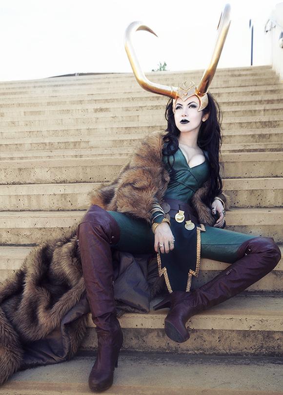 Ngắm thần lừa lọc Loki hóa mỹ nhân bốc lửa, 3 vòng đâu ra đấy qua loạt ảnh cosplay gợi cảm - Ảnh 9.