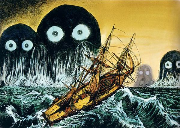 Umibozu: Loài yêu quái linh hồn trong truyền thuyết chuyên tạo nên ác mộng - Ảnh 2.