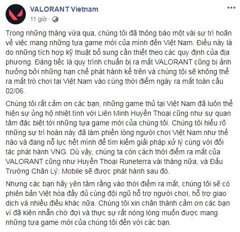 Riot Games hé lộ thời điểm ra mắt VALORANT ngay đầu tháng 6, tuy nhiên sẽ bị delay vài tháng tại máy chủ Việt Nam - Ảnh 2.