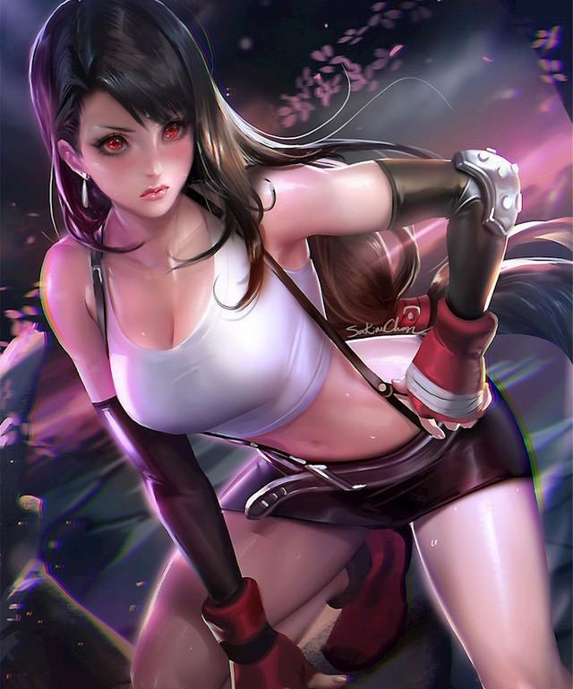 Nóng mắt với bộ ảnh cosplay Tifa ngực còn... to hơn bản gốc - Ảnh 3.