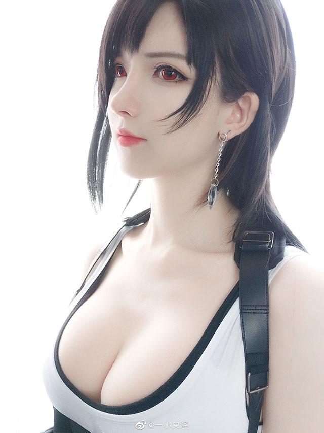 Nóng mắt với bộ ảnh cosplay Tifa ngực còn... to hơn bản gốc - Ảnh 4.