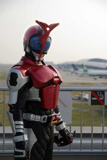 Ngắm bộ ảnh cosplay Kamen Rider Kabuto siêu đẳng cấp của các fan - Ảnh 3.