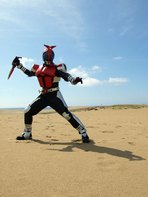 Ngắm bộ ảnh cosplay Kamen Rider Kabuto siêu đẳng cấp của các fan - Ảnh 6.