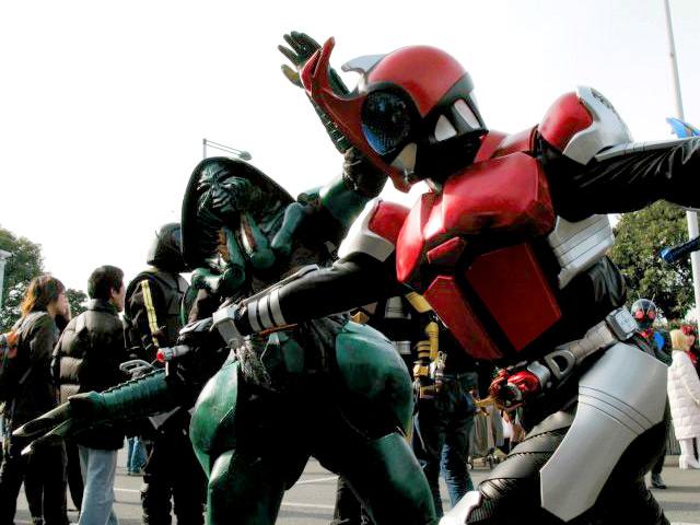 Ngắm bộ ảnh cosplay Kamen Rider Kabuto siêu đẳng cấp của các fan - Ảnh 9.