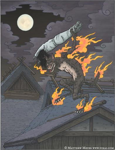 Kasha: Loài yêu quái chuyên đánh cướp thi hài những kẻ 'nặng nghiệp' - Ảnh 1.