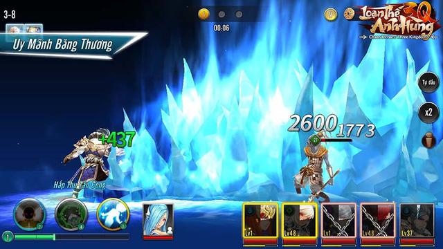 """Loạn Thế Anh Hùng 3Q - Game thẻ tướng """"không cấp Vip, không lực chiến"""" chính thức ra mắt, tặng 2000 Giftcode - Ảnh 3."""
