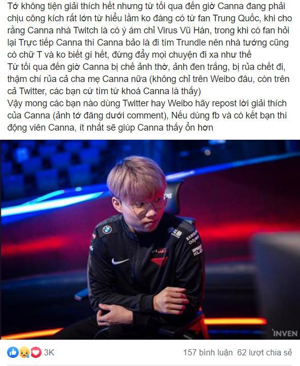 Fan Trung tiếp tục chế ảnh thờ, chửi rủa cả bố mẹ của Canna: Fan Việt tức tốc lên Weibo repost bài đăng giải thích, quyết tâm thanh tẩy cho cậu - Ảnh 9.