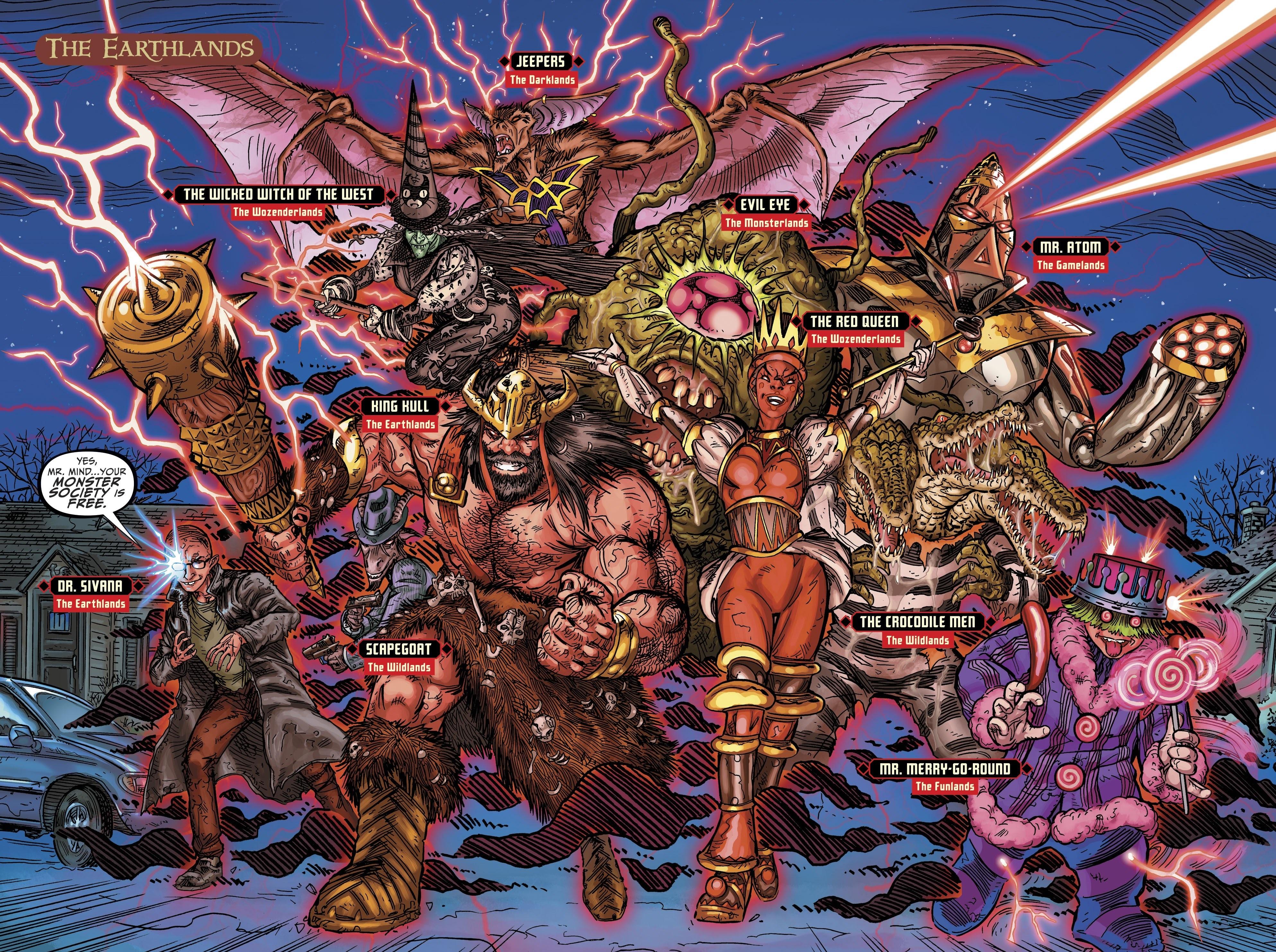 DC Comics: JSA trở lại, 7 vương quốc ma thuật sẽ xảy...