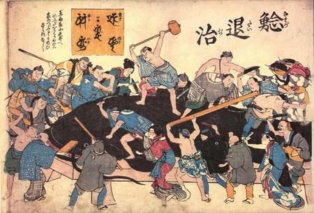 Câu Long: Loài thủy quái khổng lồ ở Chùa Cầu Hội An và truyền thuyết nổi tiếng khắp Nhật Bản - Ảnh 2.