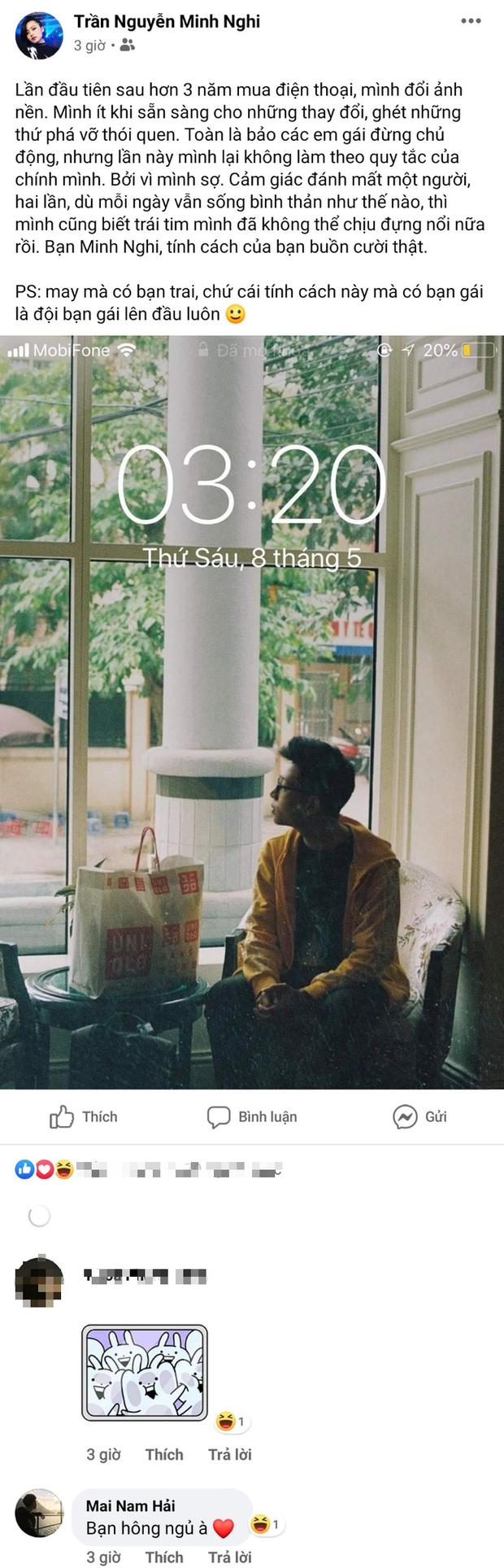 Hậu công khai tình cảm cặp đôi Minh Nghi - Bomman: Hóa ra người trong cuộc đã ẩn ý tình trong như đã suốt mấy tuần qua rồi - Ảnh 1.