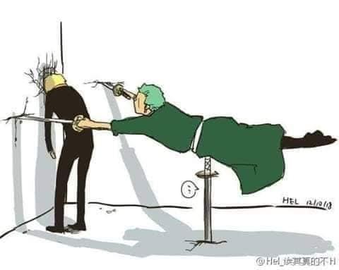 Các nhân vật anime rủ nhau bắt trend Người Nhện bám dính trên tường vô cùng hài hước - Ảnh 4.