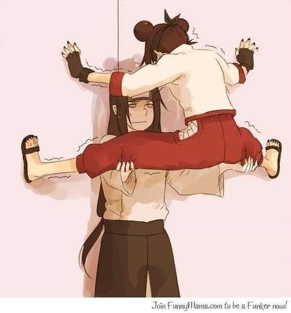 Các nhân vật anime rủ nhau bắt trend Người Nhện bám dính trên tường vô cùng hài hước - Ảnh 13.