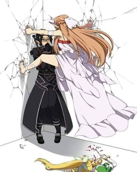 Các nhân vật anime rủ nhau bắt trend Người Nhện bám dính trên tường vô cùng hài hước - Ảnh 18.