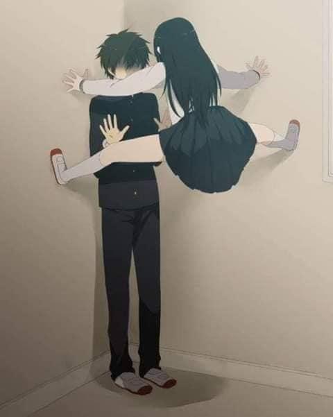 Các nhân vật anime rủ nhau bắt trend Người Nhện bám dính trên tường vô cùng hài hước - Ảnh 19.