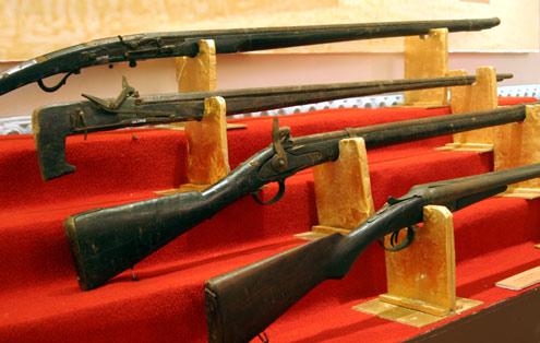 Matchlock Arquebus - Loại súng hỏa mai đầu tiên trên thế giới - Ảnh 5.