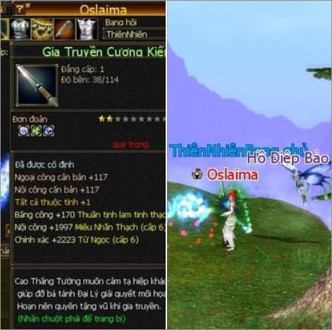 Oslaima: Rich Kid 12 tuổi của Thiên Long Bát Bộ với giai thoại đập 10 triệu vào thanh kiếm... cấp 1 - Ảnh 1.