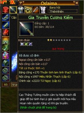 Oslaima: Rich Kid 12 tuổi của Thiên Long Bát Bộ với giai thoại đập 10 triệu vào thanh kiếm... cấp 1 - Ảnh 2.