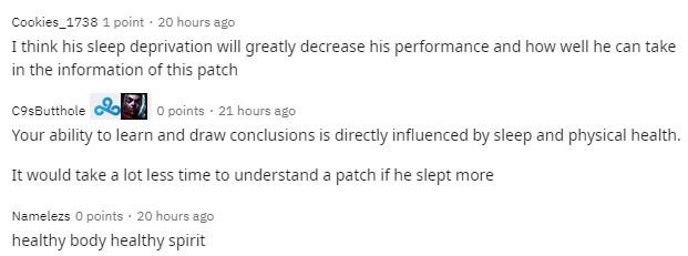 Doinb khiến fan lo lắng vì đánh đổi sức khỏe lấy vinh quang - Ngủ đủ giấc đánh mới hay anh ơi - Ảnh 4.