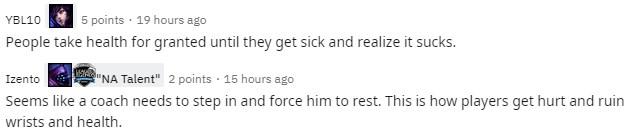 Doinb khiến fan lo lắng vì đánh đổi sức khỏe lấy vinh quang - Ngủ đủ giấc đánh mới hay anh ơi - Ảnh 6.