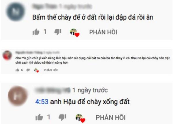 Làm video ẩm thực trông mất vệ sinh, con trai bà Tân Vlog lại nhận mưa gạch đá từ phía cộng đồng mạng - Ảnh 6.