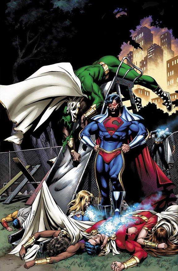 SHAZAM! kết thúc sớm với cuộc chiến giữa Shazam và Superboy-Prime - Ảnh 1.