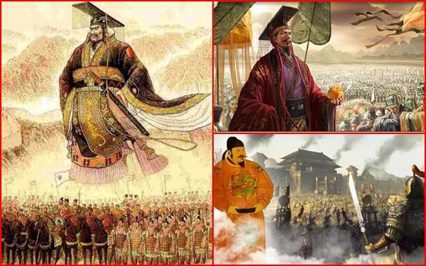 4 Hoàng đế tài năng nhất trong lịch sử Trung Quốc được mệnh danh là ''Thiên cổ nhất đế''