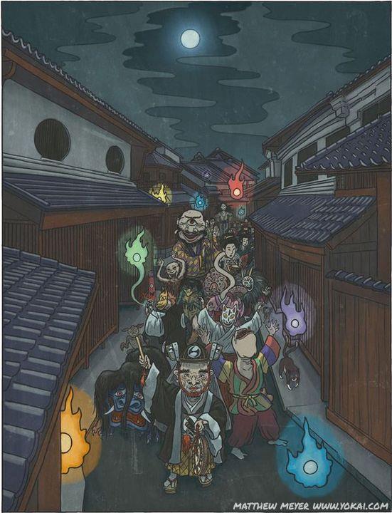 Bách quỷ dạ hành: Những con quỷ nổi danh trong truyền thuyết của Nhật Bản - Ảnh 2.