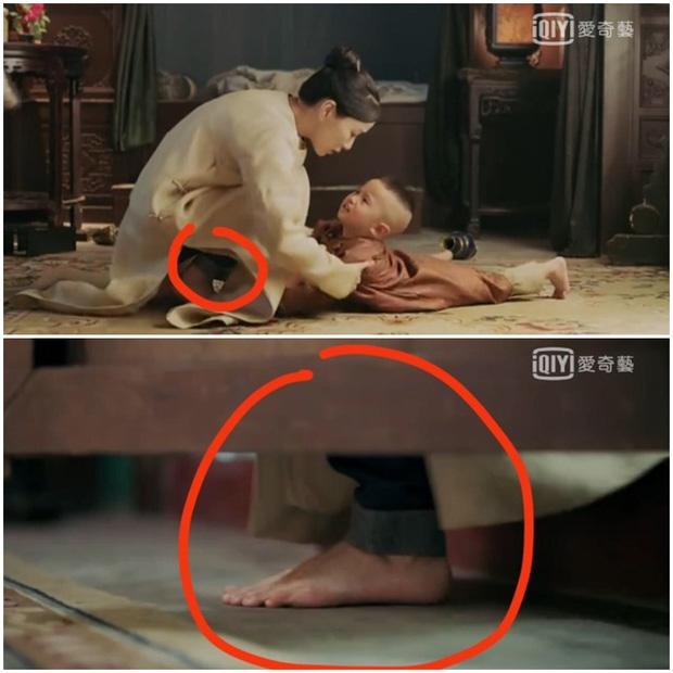Rổ sạn hài tắt thở phim Hoa ngữ: Điện thoại, giày thể thao bất ngờ xuyên không về thời cổ trang - Ảnh 5.