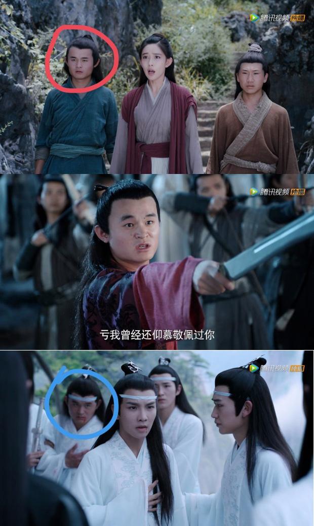 Rổ sạn hài tắt thở phim Hoa ngữ: Điện thoại, giày thể thao bất ngờ xuyên không về thời cổ trang - Ảnh 8.