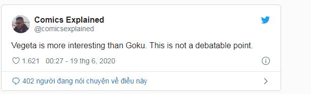Dragon Ball Super: Sự kiện chấn động Vegeta vượt mặt Goku đã đưa hoàng tử Saiyan mới lọt top xu hướng trên mạng xã hội - Ảnh 6.