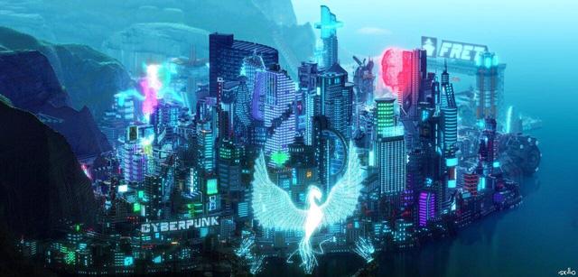 Khâm phục game thủ đã dựng cả thế giới Cyberpunk 2077 trong Minecraft - Ảnh 3.