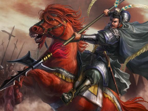 Lữ Bố và góc khuất hổ lang đội lốt anh hùng, đứng trước nữ sắc âu cũng chỉ là một bại tướng - Ảnh 1.