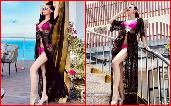 Chiêm ngưỡng thân hình nóng bỏng mắt của Hội bà mẹ bỉm sữa đình đám của showbiz Việt - Ảnh 2.