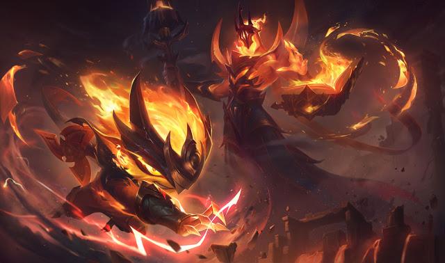 LMHT ra mắt một lèo 8 trang phục thuộc 3 vũ trụ Ma Pháp Sư, Hỏa Ngục, Chinh Phục, game thủ đã thấy nhói thận chưa? - Ảnh 43.