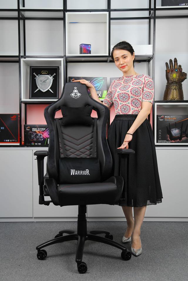 E-Dra EGC203 và WarrioR WGC307 - Hai mẫu ghế gaming đáng tiền nhất trong tầm giá 3 triệu đồng - Ảnh 12.
