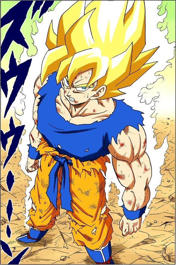 Dragon Ball: 10 khoảnh khắc các chiến binh Z đạt được hình thức Super saiyan lần đầu tiên (P1) - Ảnh 1.