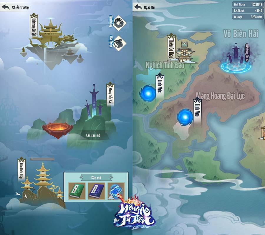 Vừa hé lộ info, Mộng Ảo Tu Tiên đã đe dọa đánh tụt hạng Immortal Taoists, trở thành siêu phẩm game tu tiên Top 1 mới! - Ảnh 3.