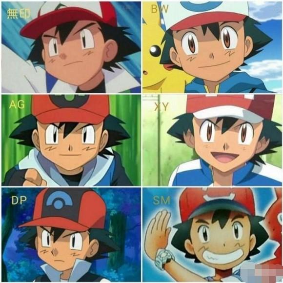 Qua thời gian 7 nhân vật anime nổi tiếng nhất đã thay đổi ngoại hình như thế nào? - Ảnh 2.