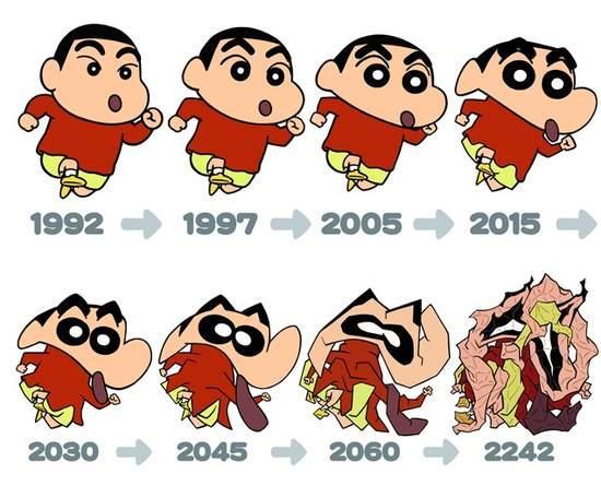 Qua thời gian 7 nhân vật anime nổi tiếng nhất đã thay đổi ngoại hình như thế nào? - Ảnh 6.