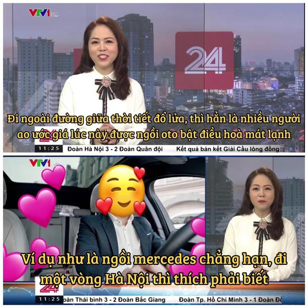 VTV vừa có màn cà khịa căng cực khi nhắc đến câu ngồi xe Mẹc đi một vòng Hà Nội từ ồn ào của Quang Hải - Ảnh 1.