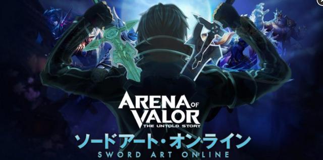 Liên Quân Mobile nguy cơ thành Anime of Valor nếu mở rộng hợp tác với Sword Art Online - Ảnh 1.