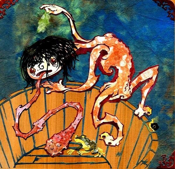 Những ma quỷ tấu hài trong thần thoại Nhật Bản: Lúc mắt mọc dưới mông, lúc lại cười không dứt - Ảnh 3.