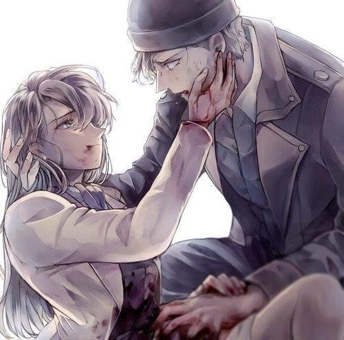 Shuichi Akai đã mất đi người yêu Akemi Miyano khi cô gái này bị Gin sát hại