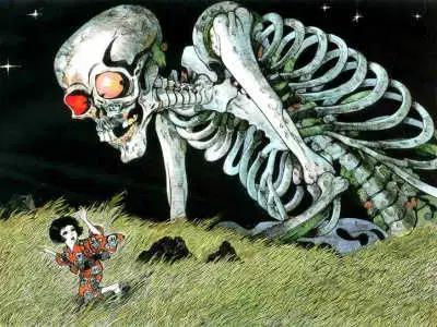 Yêu tinh xương Gashadokuro: Truyền thuyết kinh dị và nỗi sợ hãi ẩn sâu trong những khu rừng tại Nhật Bản - Ảnh 3.