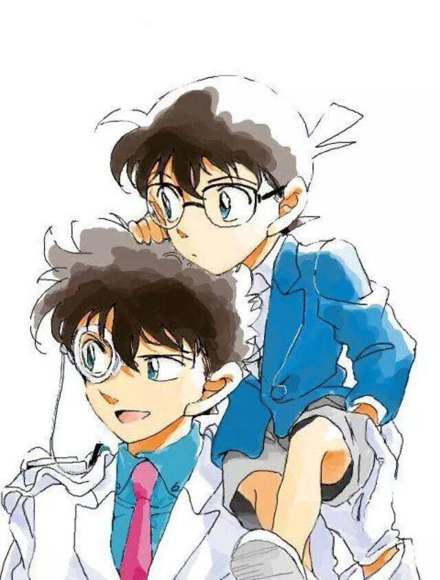 Kaito Kid và Conan là 2 nhân vật trẻ tuổi có bộ óc thông minh nhất nhì trong bộ truyện