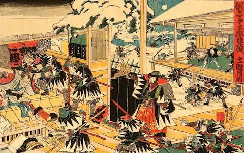 47 lãng nhân: Truyền thuyết bât diệt về những huyền thoại samurai Nhật Bản - Ảnh 2.