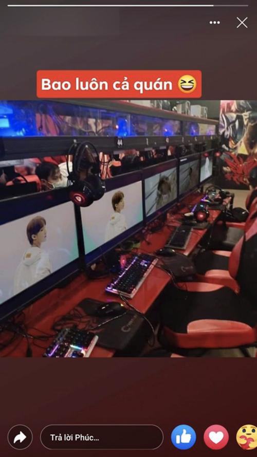 Choáng: YouTuber 9x chi 100 triệu, bao trọn Cyber Game để cày view cho Sếp Tùng - Ảnh 8.